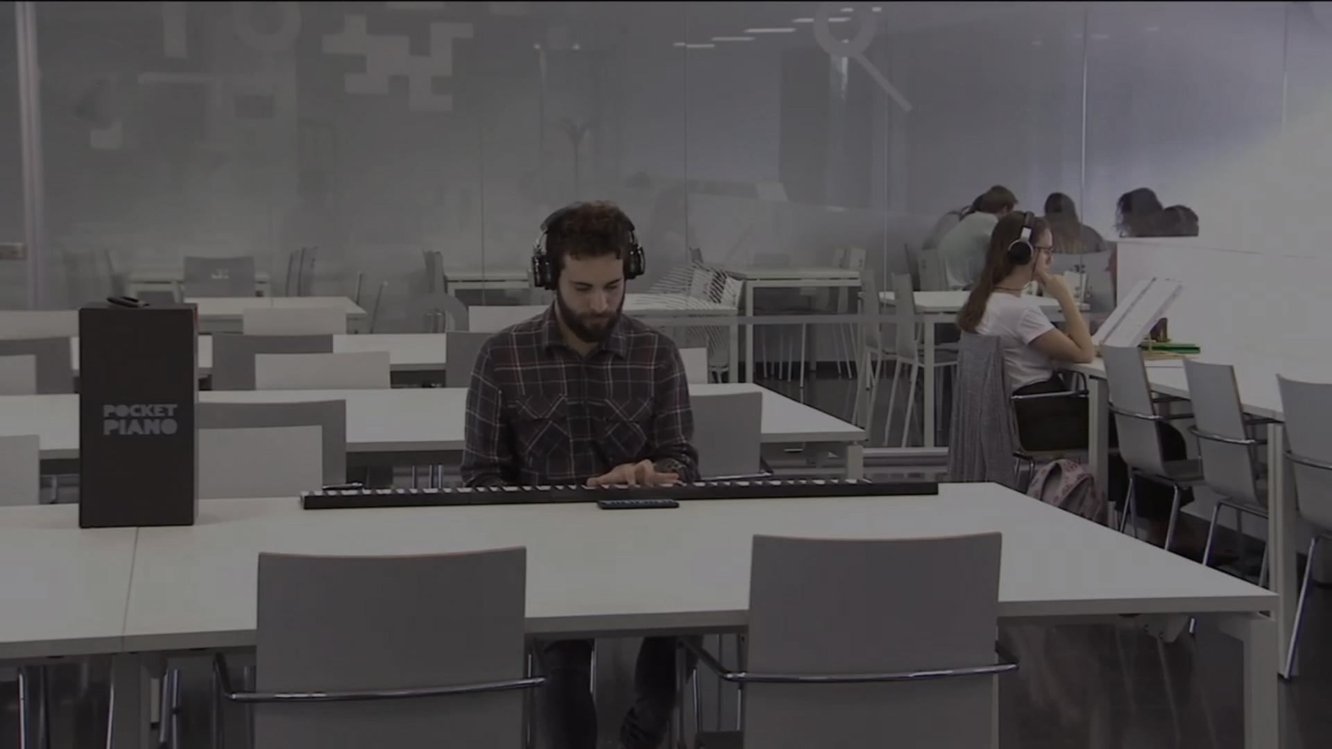 Tecnología musical: un piano de bolsillo profesional