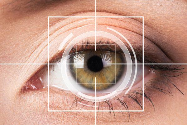 Imagen de un ojo ilustrativa de la tecnología eyetracking