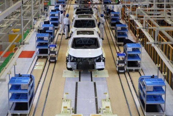 Planta de montaje de automóviles