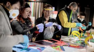 Coronavirus makers solidaridad tecnologica