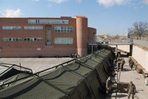 Hospital de segovia ampliado por ingenieros militares