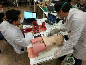 Respirador diseñado por Ingenieros de la URJC