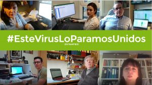 Teletrabajo | El equipo de Dynatec trabajando en remoto
