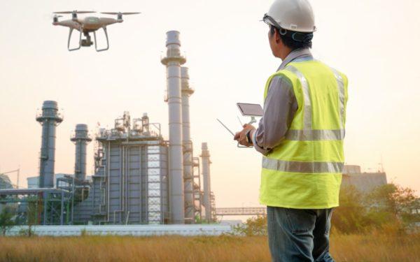 Drones para inspección de plataformas petrolíferas