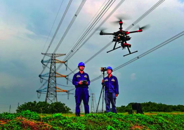 Drones para inspeccionar líneas eléctricas
