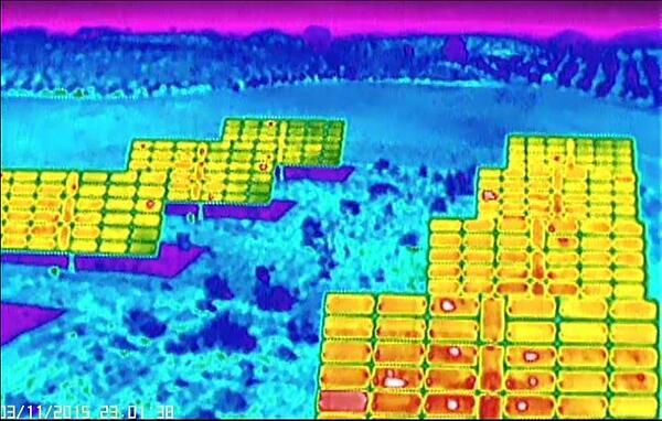 Drones para inspección de paneles solares