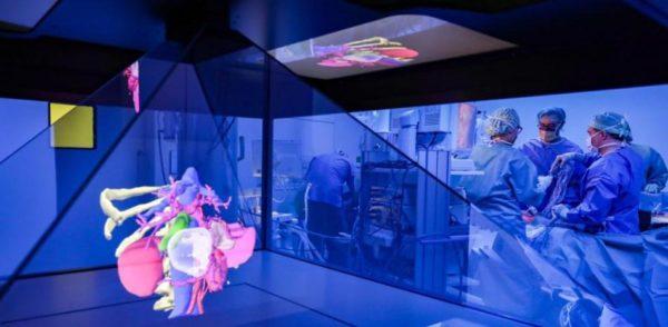 Tecnologías holográficas en el mundo de la salud