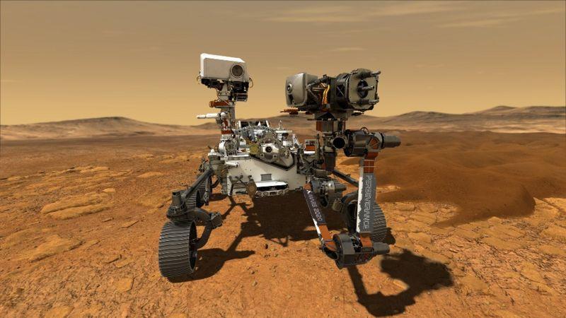 El Perserverance y la operación de Marte: toda una hazaña de la ingeniería aeroespacial.