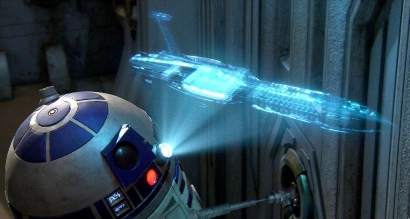 La videollamada del futuro: cada vez más cerca de la ciencia ficción.