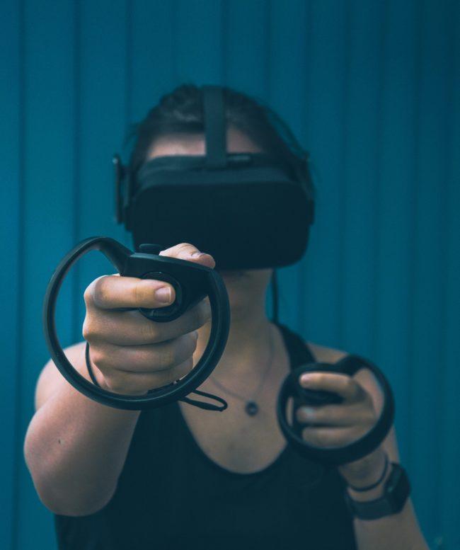Metaverso gafas de realidad virtual